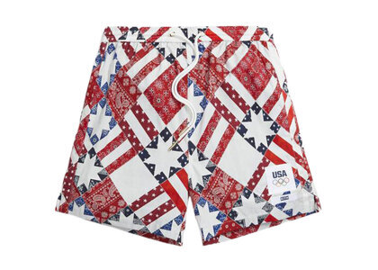 Kith for Team USA Starry Quilt Active Short Pyreの写真
