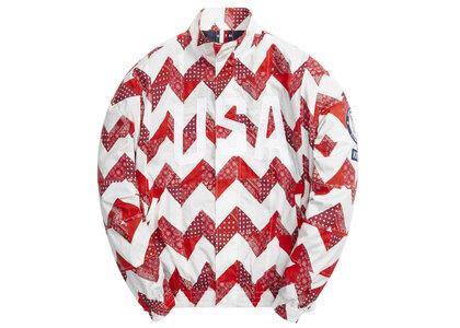 Kith for Team USA Zig Zag Quilt Track Jacket Pyreの写真
