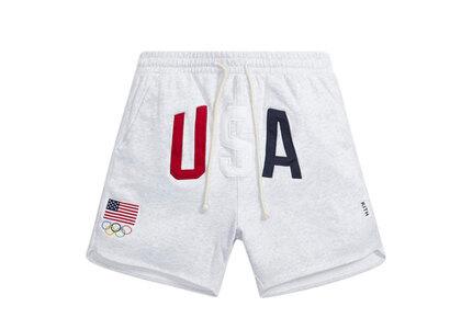Kith for Team USA Jordan Baby Terry Short Light Heather Greyの写真