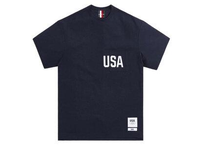 Kith for Team USA Quinn Pocket Tee Navyの写真