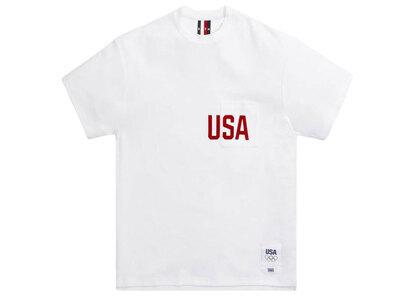 Kith for Team USA Quinn Pocket Tee Whiteの写真