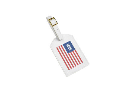 Kith for Team USA & Away Luggage Tag American Flag Whiteの写真