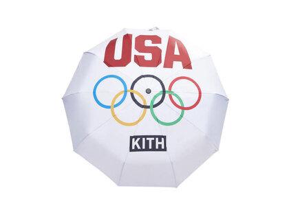 Kith for Team USA 5 Rings Umbrella Whiteの写真