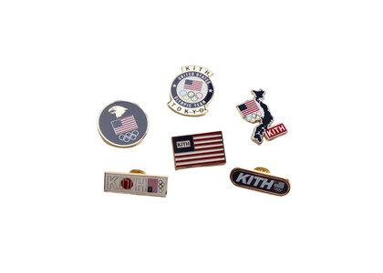 Kith for Team USA Pins Set Multiの写真