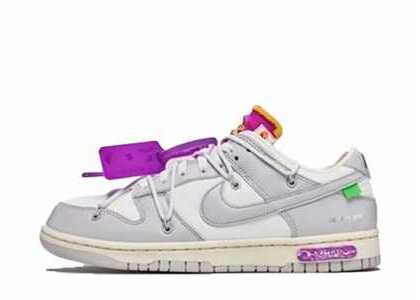 Off-White × Nike Dunk Low The 50 Collection 50 of 3の写真