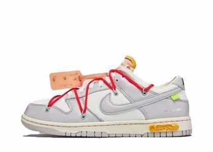 Off-White × Nike Dunk Low The 50 Collection 50 of 6の写真