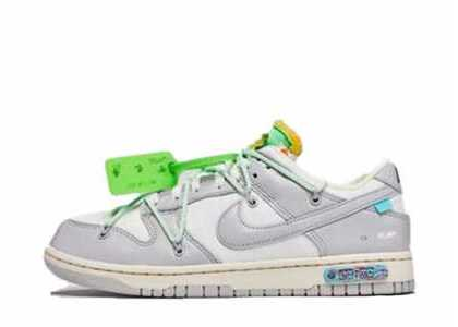 Off-White × Nike Dunk Low The 50 Collection 50 of 7の写真