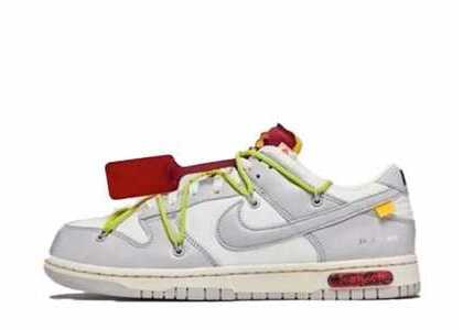 Off-White × Nike Dunk Low The 50 Collection 50 of 8の写真