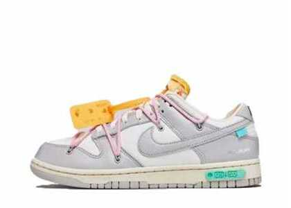 Off-White × Nike Dunk Low The 50 Collection 50 of 9の写真