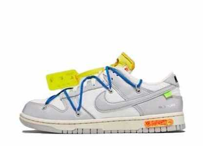 Off-White × Nike Dunk Low The 50 Collection 50 of 10の写真
