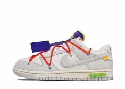 Off-White × Nike Dunk Low The 50 Collection 50 of 13の写真