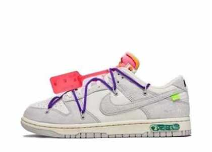 Off-White × Nike Dunk Low The 50 Collection 50 of 15の写真