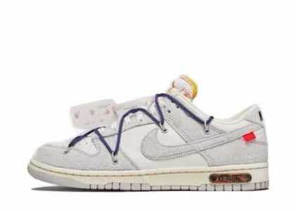 Off-White × Nike Dunk Low The 50 Collection 50 of 18の写真