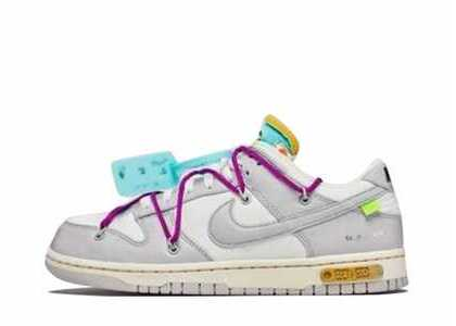 Off-White × Nike Dunk Low The 50 Collection 50 of 21の写真