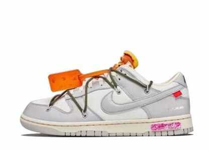 Off-White × Nike Dunk Low The 50 Collection 50 of 22の写真