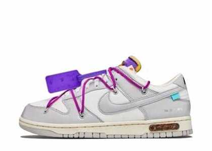 Off-White × Nike Dunk Low The 50 Collection 50 of 28の写真