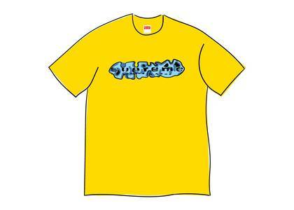 Supreme Everything Is Shit Tee Yellowの写真
