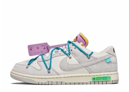 Off-White × Nike Dunk Low The 50 Collection 50 of 36の写真