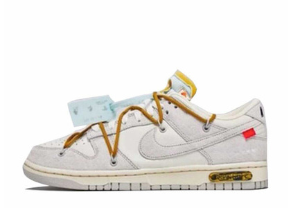 Off-White × Nike Dunk Low The 50 Collection 50 of 37の写真