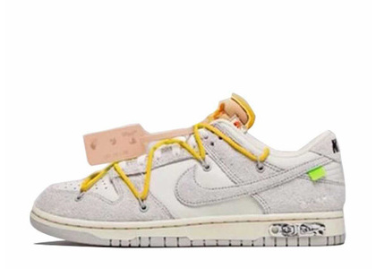 Off-White × Nike Dunk Low The 50 Collection 50 of 39の写真