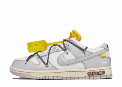Off-White × Nike Dunk Low The 50 Collection 50 of 41の写真