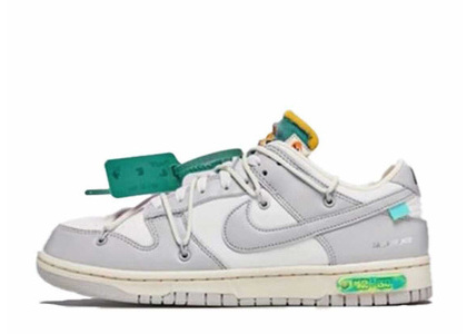 Off-White × Nike Dunk Low The 50 Collection 50 of 42の写真