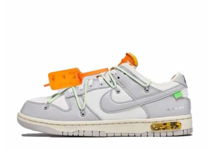 Off-White × Nike Dunk Low The 50 Collection 50 of 43の写真