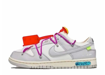 Off-White × Nike Dunk Low The 50 Collection 50 of 45の写真