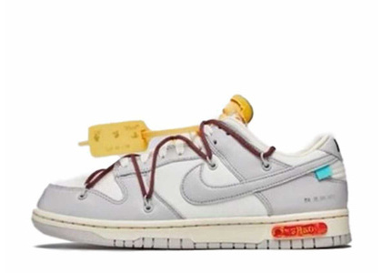 Off-White × Nike Dunk Low The 50 Collection 50 of 46の写真