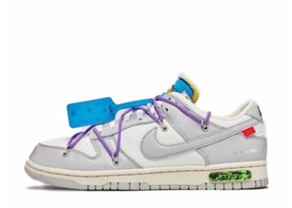 Off-White × Nike Dunk Low The 50 Collection 50 of 47の写真