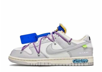 Off-White × Nike Dunk Low The 50 Collection 50 of 48の写真