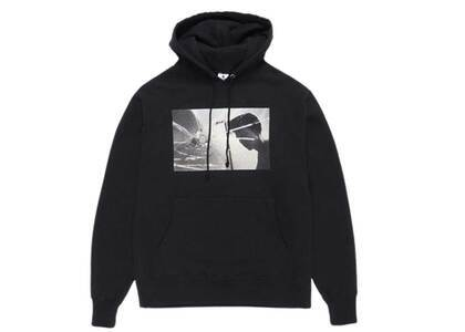 WACKO MARIA Larry Clark Tulsa Heavy Weight Pullover Hooded Front Print Sweat Shirt Black (SS21)の写真