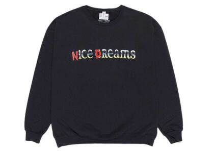 WACKO MARIA Nice Dreams Sweat Shirt Black (SS21)の写真