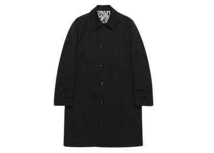WACKO MARIA Bal Collar Coat Black (SS21)の写真