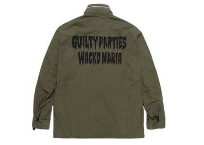 WACKO MARIA M-65 Back Logo Jacket Khaki (SS21)の写真