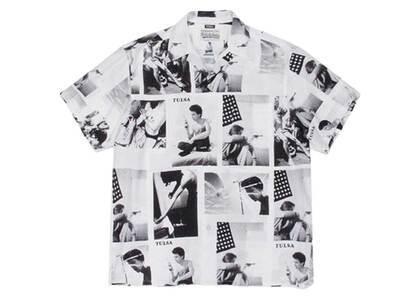 WACKO MARIA Larry Clark Tulsa Hawaiian Shirt Type-2 White (SS21)の写真