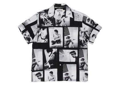 WACKO MARIA Larry Clark Tulsa Hawaiian Shirt Type-2 Black (SS21)の写真