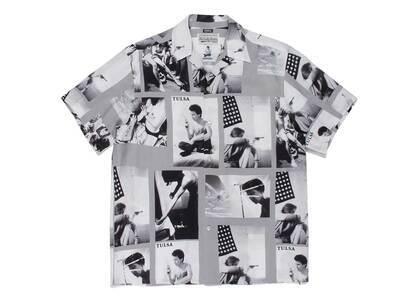WACKO MARIA Larry Clark Tulsa Hawaiian Shirt Type-2 Gray (SS21)の写真