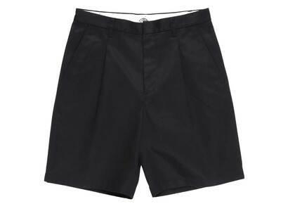 WACKO MARIA Dickies Pleated Short Trousers Black (SS21)の写真