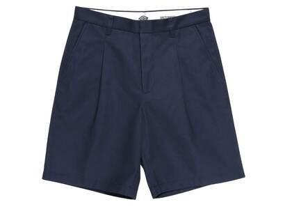 WACKO MARIA Dickies Pleated Short Trousers Navy (SS21)の写真