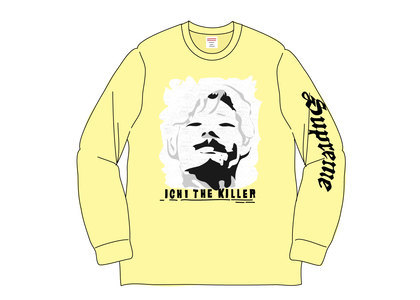 Supreme Ichi The Killer L-S Tee Pale Yellowの写真