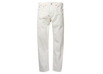 WACKO MARIA GP-D-101 River Tight Fit Selvedge Jeans White (SS21)の写真