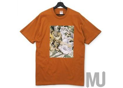 Supreme Bling Tee Burnt Orangeの写真