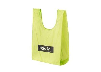 X-girl Small Reusable Bag X-girl Light Greenの写真