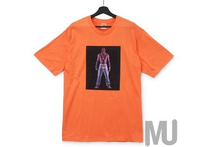 Supreme Tupac Hologram Tee Neon Orangeの写真