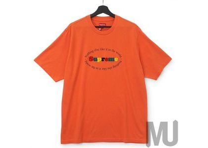 Supreme Nothing Else S-S Top Orangeの写真