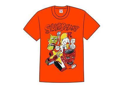 Supreme Daniel Johnston Tee Orangeの写真