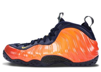 Nike Air Foamposite One Blue Void Rugged Orangeの写真