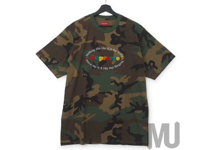 Supreme Nothing Else S-S Top Camoの写真