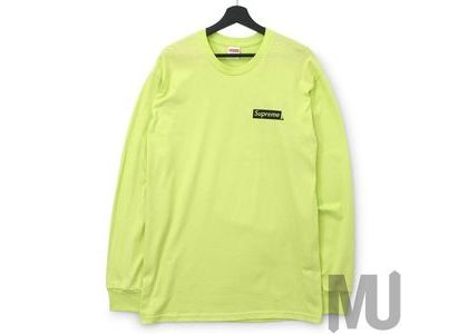 Supreme Sacred Unique L-S Tee Neon Greenの写真